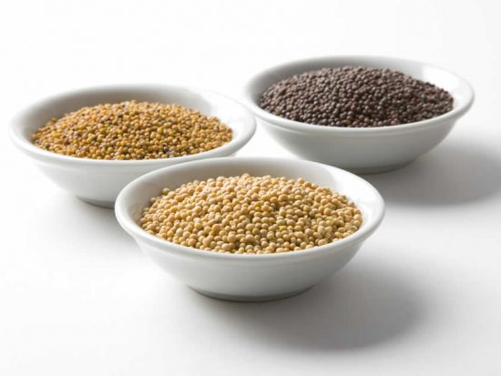 Brown, Yellow and Oriental Mustard Seed