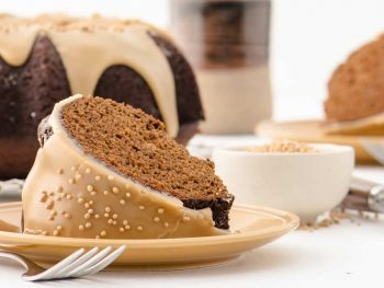 Molasses-Mustard Gingerbread Pound Cake