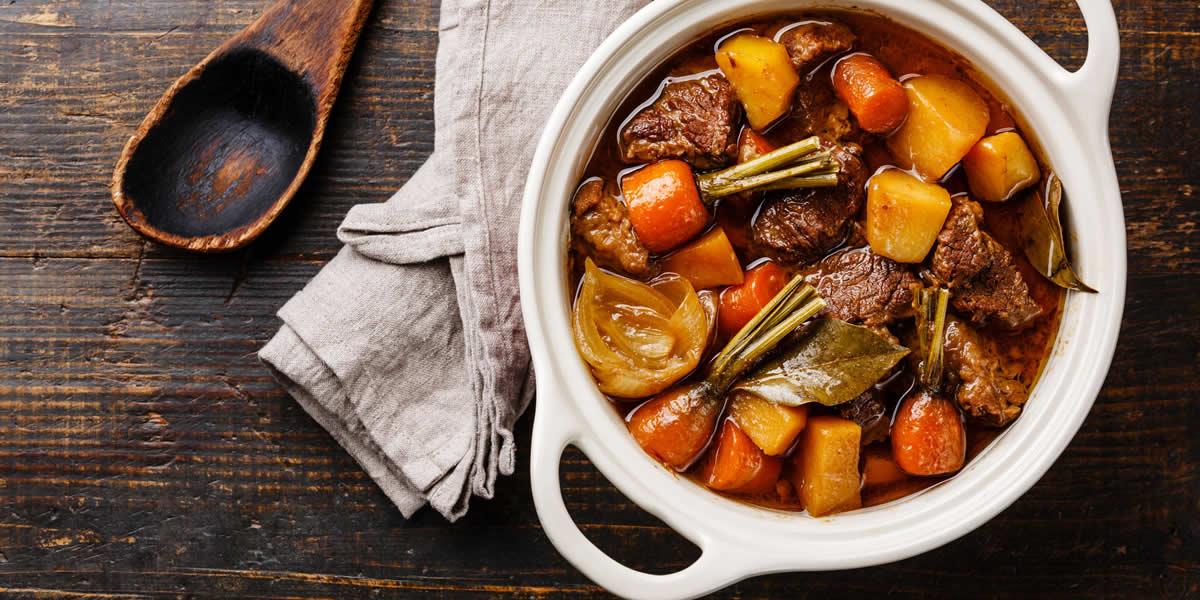 Mustard Herb Beef Stew