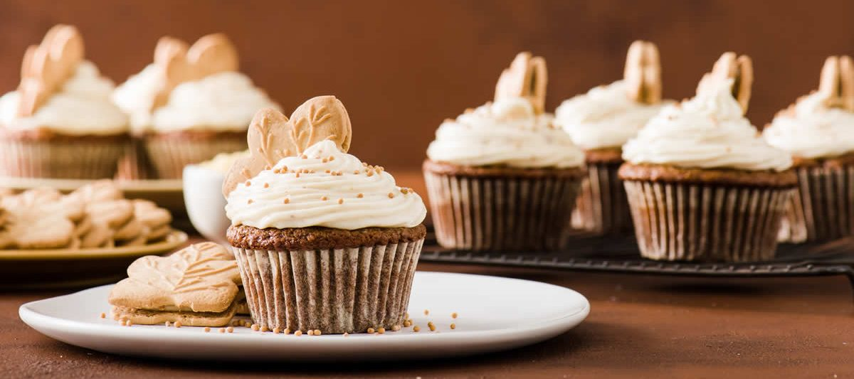 Spiced Maple & Mustard Ginger Cupcakes