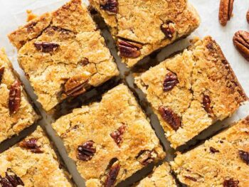 Mustard-Citrus-Pecan-Blondies