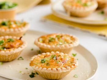 ham-quiche-tarts